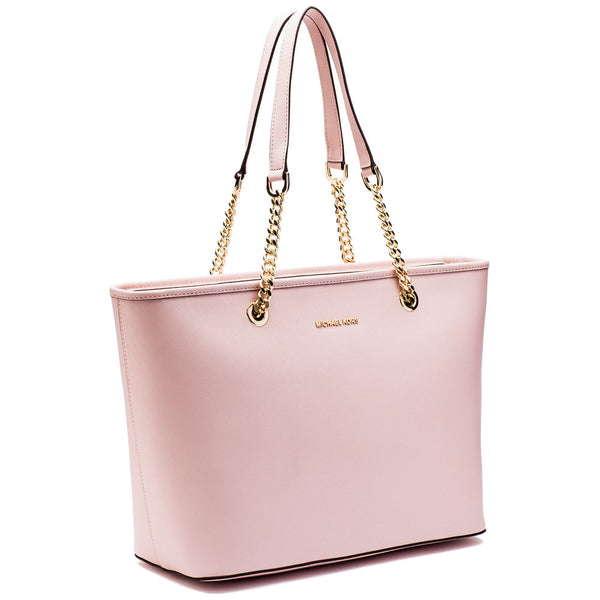 MICHAEL Michael Kors Blossom Pink Jet Set Travel Chain Tote - Citi Trends Designer - Side
