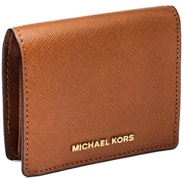 Michael Michael Kors Luggage Jet Set Travel Logo Carryall Card Case - Cititrends Designer - Side
