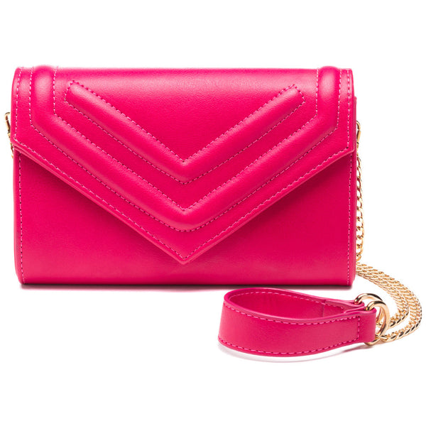 Bright And Just Right Magenta Mini Crossbody - Citi Trends Accessories - Front
