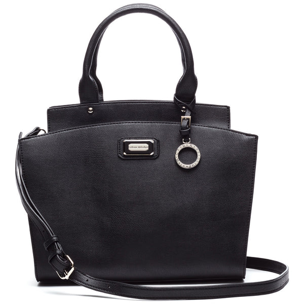 Catherine by Catherine Malandrino Black Jane Satchel - Citi Trends Designer - Front