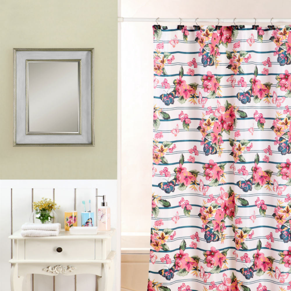 Don 39 t hesitate just coordinate 18 piece floral print bath for Bathroom coordinate sets