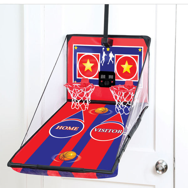 Electronic Over-the-Door Double Basketball Game - Citi Trends Home - Front