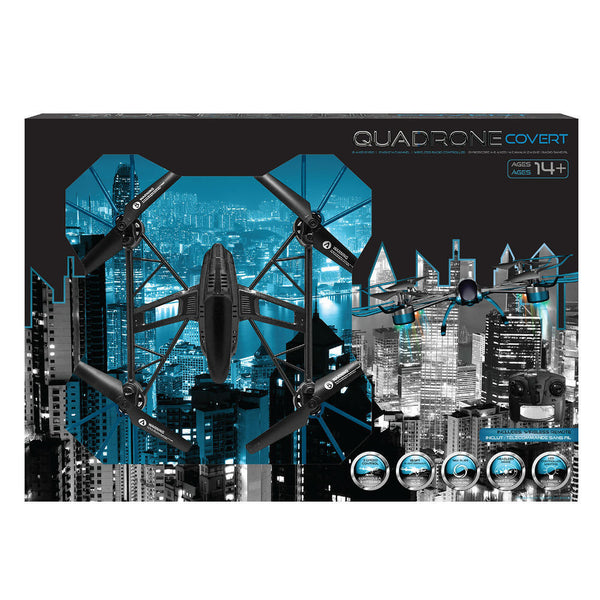 Quadrone Black Covert Drone - Citi Trends Home - Box Front