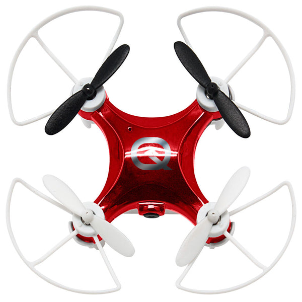 Quadrone Red/White Micro Wi-Fi Drone - Citi Trends Home - Top