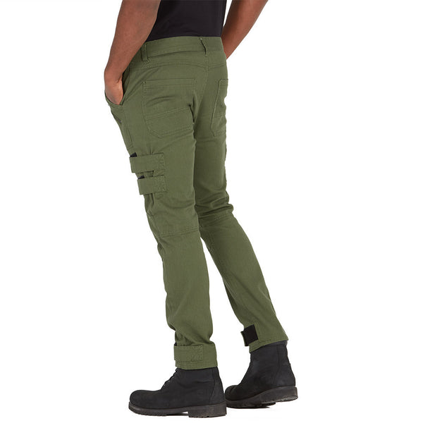 Fasten Statement Olive Moto Jean - Citi Trends Mens - Back