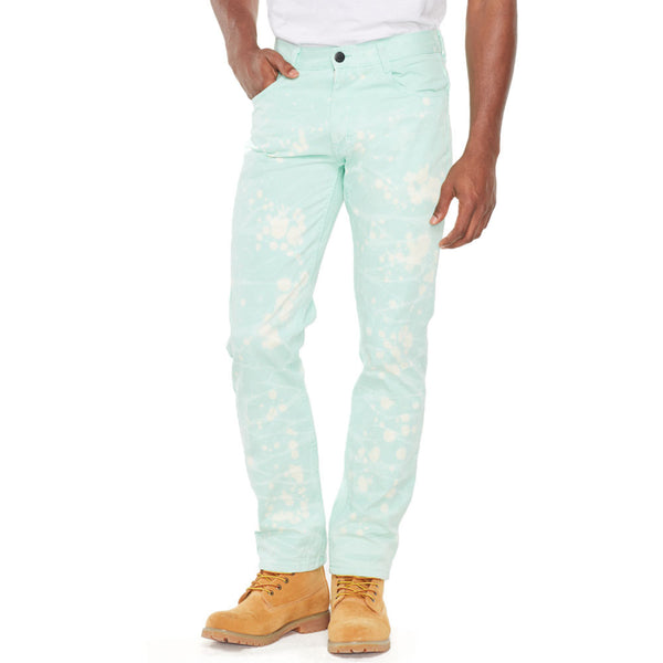 Bleach Out Sage Denim Jean - Citi Trends Mens - Front