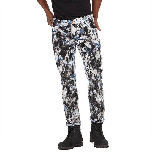 The Art Of Swagger Paint Splatter Jean - Citi Trends Mens - Front