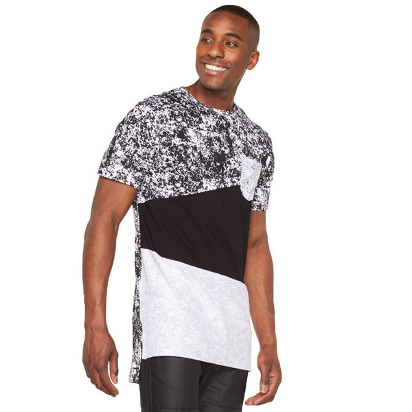 Mix Master Long-Length Pocket Tee - Citi Trends Mens - Front