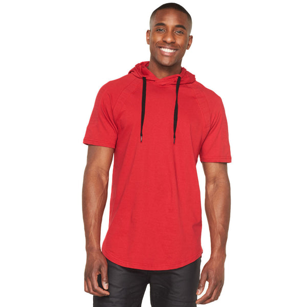 Moto Mood Red Curve-Hem Hoodie - Citi Trends Mens - Front