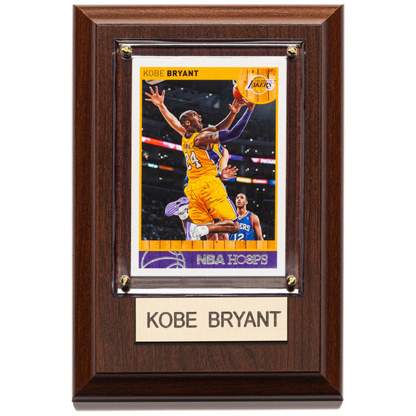 NBA 4x6 Kobe Bryant Los Angeles Lakers Player Plaque - Citi Trends Home - Front