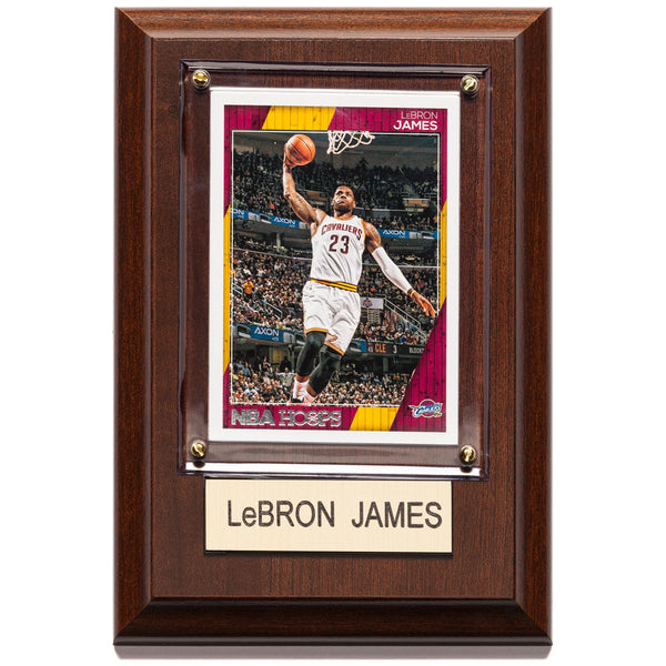 NBA 4x6 Lebron James Cleveland Cavaliers Player Plaque - Citi Trends Home - Front