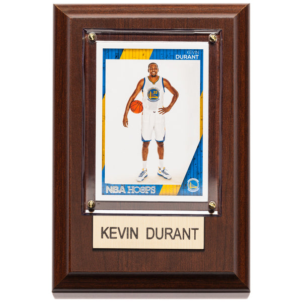 NBA 4x6 Kevin Durant Golden State Warriors Player Plaque - Citi Trends Home - Front