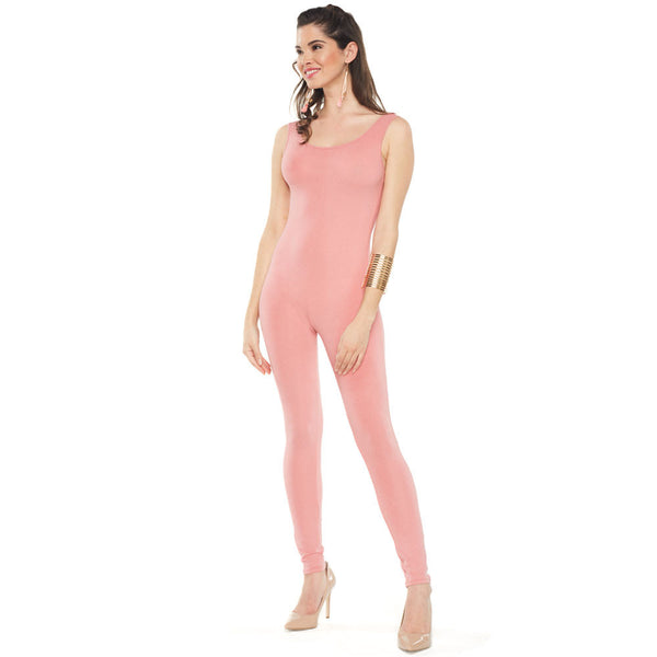 Sassy Rose Sleeveless Catsuit - Citi Trends Ladies - Front