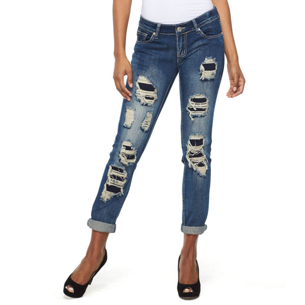 Repair To Amaze Rip And Repair Skinny Jean - Citi Trends Ladies and Plus - Front