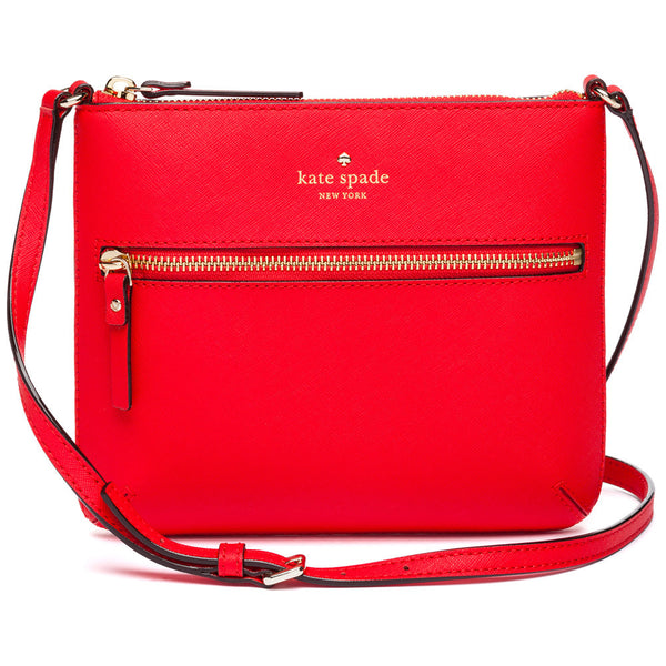 Kate Spade New York Rooster Red Cedar Street Tenley Crossbody Bag - Citi Trends Designer - Front