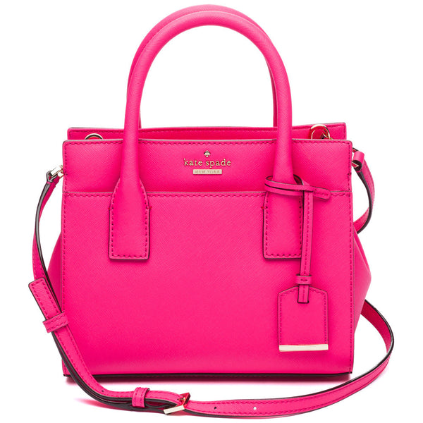 Kate Spade New York Pink Cameron Street Mini Candace Satchel - Citi Trends Designer - Front