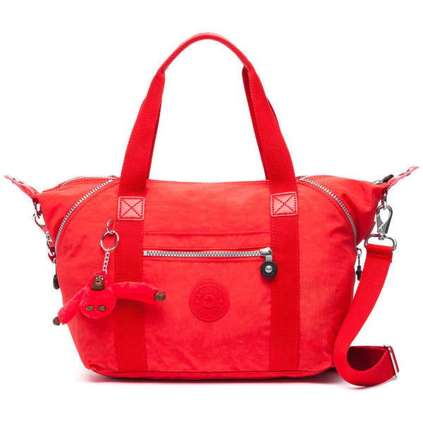 Kipling Red Art U Satchel - Citi Trends Designer - Front