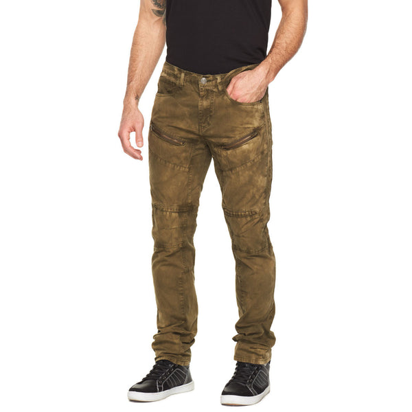 All In a Days Work Olive Wash Jean - Citi Trends Mens - Front