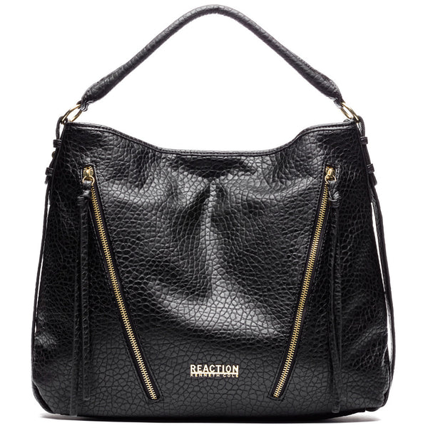 Kenneth Cole Reaction Black Bindi Hobo - Citi Trends Designer - Front