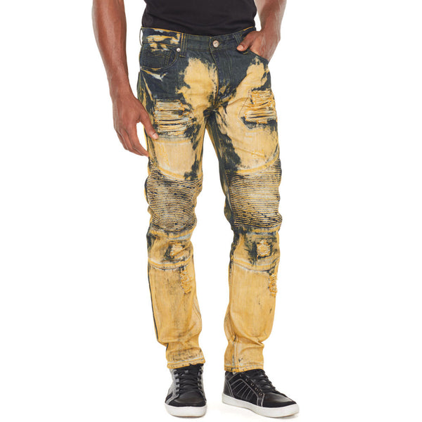 Tony Supreme Bleach Washed Denim - Citi Trends Mens - Front