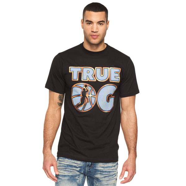 True OG Black Graphic Tee - Citi Trends Mens - Front