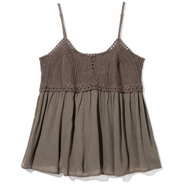 Caught My Eye Plus Size Olive Babydoll Top - Citi Trends Plus - Front