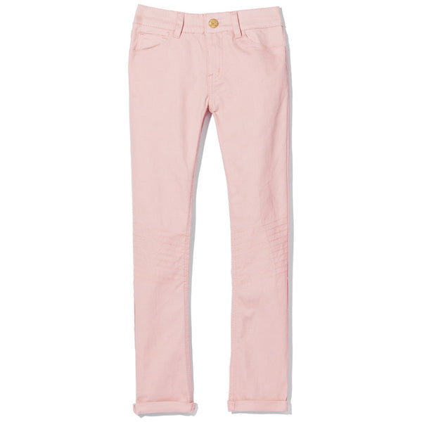 Moto Moves Girls Dusty Rose Twill Pant - Citi Trends Girls - Front