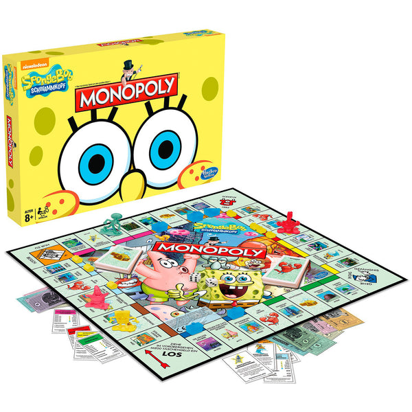 Monopoly Game SpongeBob SquarePants Edition - Citi Trends Home - Front