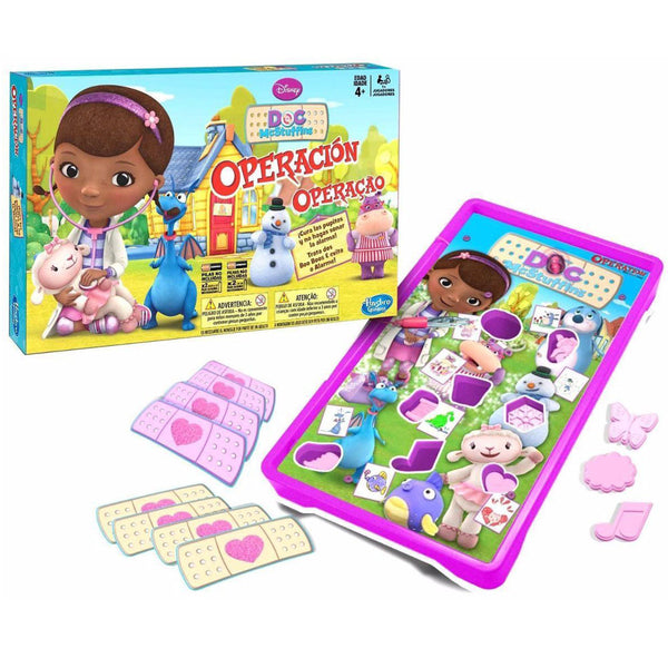 Disney Doc McStuffins Operation Game Spanish Edition