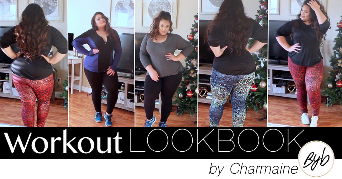 Charmaine, Be You Beautiful, Youtube Vlogger, Rainbeau Curves, Workout Lookbook, plus size, fashion, activewear