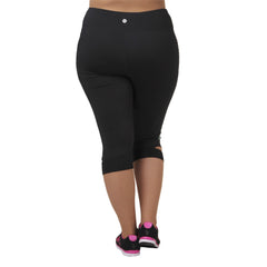 Krysten Capri - Rainbeau Curves, , activewear, athleisure, fitness, workout, gym, performance, womens, ladies, plus size, curvy, full figured, spandex, cotton, polyester - 2