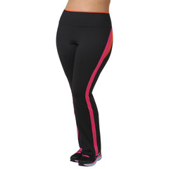 Faith Pant - Rainbeau Curves, 14/16 / Passion Pink, activewear, athleisure, fitness, workout, gym, performance, womens, ladies, plus size, curvy, full figured, spandex, cotton, polyester - 3