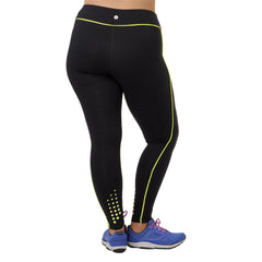 Audrey Legging - Rainbeau Curves, 14/16 / Kiwi, activewear, athleisure, fitness, workout, gym, performance, womens, ladies, plus size, curvy, full figured, spandex, cotton, polyester - 3