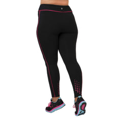 Audrey Legging - Rainbeau Curves, , activewear, athleisure, fitness, workout, gym, performance, womens, ladies, plus size, curvy, full figured, spandex, cotton, polyester - 2