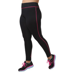 Audrey Legging - Rainbeau Curves, 14/16 / Passion Pink, activewear, athleisure, fitness, workout, gym, performance, womens, ladies, plus size, curvy, full figured, spandex, cotton, polyester - 1