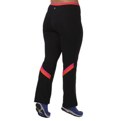 Meegan Yoga Pant - Rainbeau Curves, 14/16 / Passion Pink, activewear, athleisure, fitness, workout, gym, performance, womens, ladies, plus size, curvy, full figured, spandex, cotton, polyester - 4