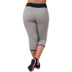Olivia Capri - Rainbeau Curves, , activewear, athleisure, fitness, workout, gym, performance, womens, ladies, plus size, curvy, full figured, spandex, cotton, polyester - 2