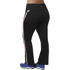 Faith Print Pant - Rainbeau Curves, , activewear, athleisure, fitness, workout, gym, performance, womens, ladies, plus size, curvy, full figured, spandex, cotton, polyester - 2