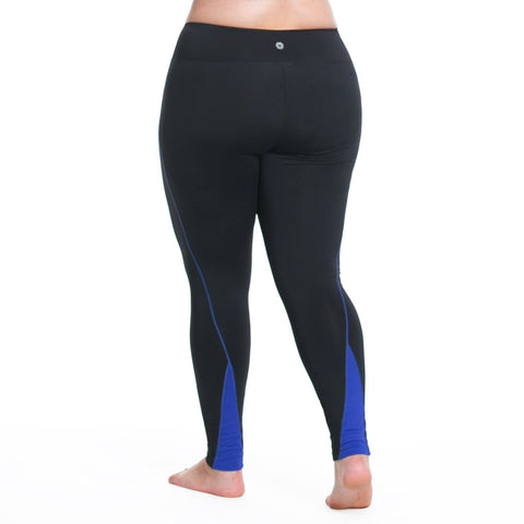 Lauren Sport Tight - Rainbeau Curves, , activewear, athleisure, fitness, workout, gym, performance, womens, ladies, plus size, curvy, full figured, spandex, cotton, polyester - 1