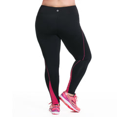 Lauren Sport Tight - Rainbeau Curves, 14/16 / Pink Posey, activewear, athleisure, fitness, workout, gym, performance, womens, ladies, plus size, curvy, full figured, spandex, cotton, polyester - 3