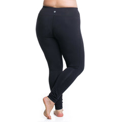 Curve Basix Leggings - Rainbeau Curves, , activewear, athleisure, fitness, workout, gym, performance, womens, ladies, plus size, curvy, full figured, spandex, cotton, polyester - 2