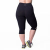 Lilia Capri - Rainbeau Curves, , activewear, athleisure, fitness, workout, gym, performance, womens, ladies, plus size, curvy, full figured, spandex, cotton, polyester - 2