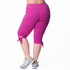 Daniela Capri - Rainbeau Curves, , activewear, athleisure, fitness, workout, gym, performance, womens, ladies, plus size, curvy, full figured, spandex, cotton, polyester - 2