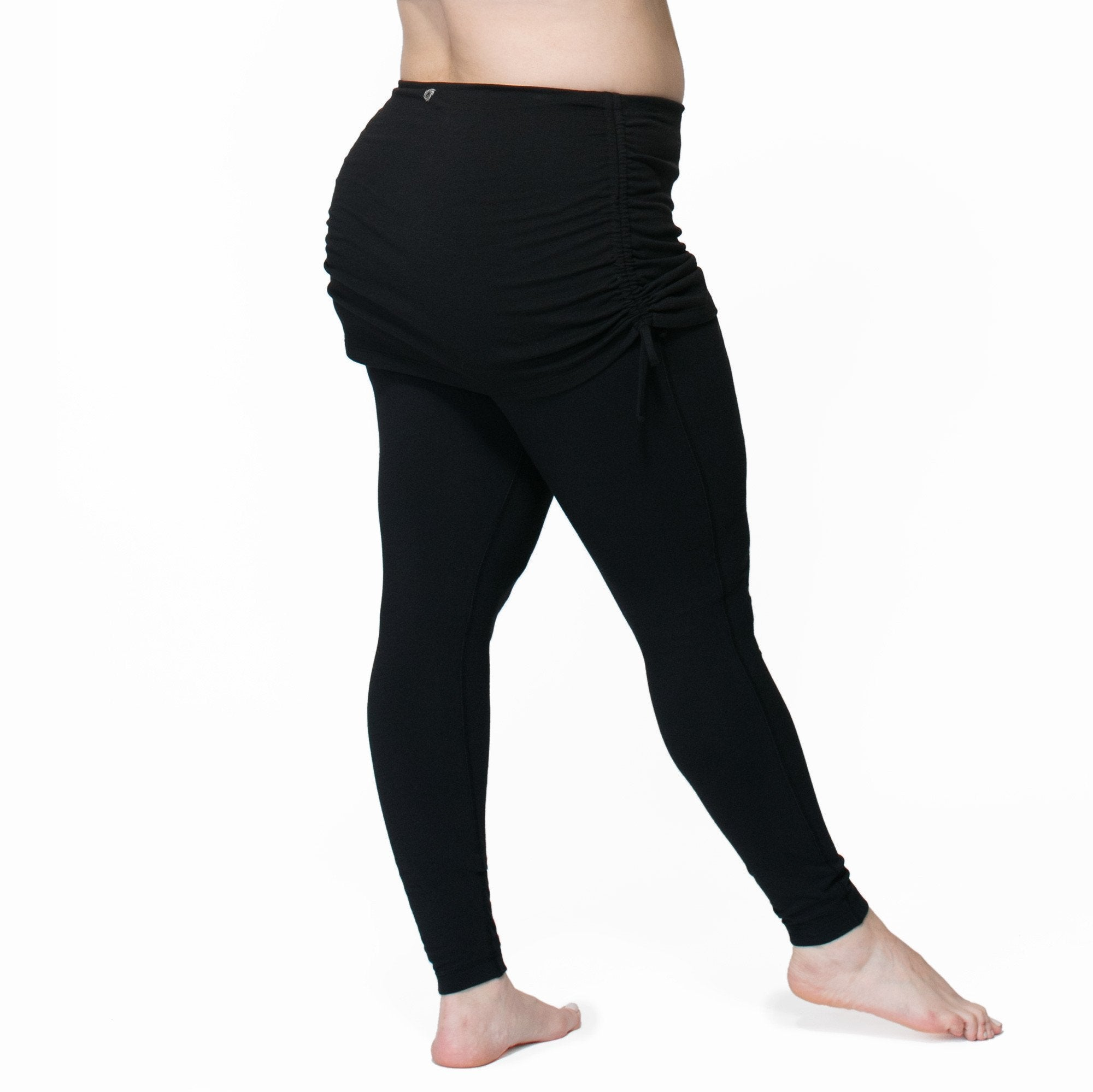 best quality meet promotion Well-liked Yoga Pants With Attached Skirt #VT95 ...