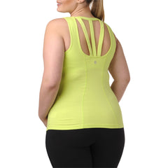 Jocelyn Tank w/ Bra - Rainbeau Curves, , activewear, athleisure, fitness, workout, gym, performance, womens, ladies, plus size, curvy, full figured, spandex, cotton, polyester - 1