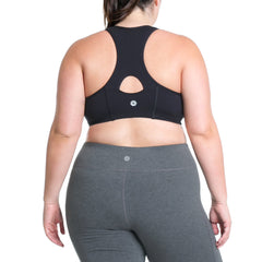Lucy Bra - Rainbeau Curves, , activewear, athleisure, fitness, workout, gym, performance, womens, ladies, plus size, curvy, full figured, spandex, cotton, polyester - 2