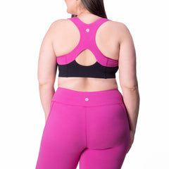 Jenna Bra - Rainbeau Curves, , activewear, athleisure, fitness, workout, gym, performance, womens, ladies, plus size, curvy, full figured, spandex, cotton, polyester - 2