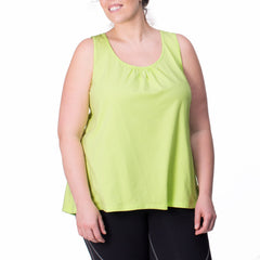 Marie Tank - Rainbeau Curves, , activewear, athleisure, fitness, workout, gym, performance, womens, ladies, plus size, curvy, full figured, spandex, cotton, polyester - 2