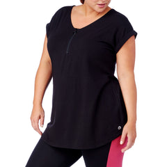 Bel-Air Zip Front Top - Rainbeau Curves