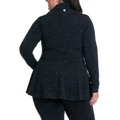 Jamie Jacket - Rainbeau Curves, , activewear, athleisure, fitness, workout, gym, performance, womens, ladies, plus size, curvy, full figured, spandex, cotton, polyester - 2